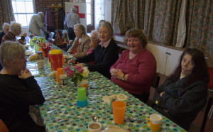 Free food and meal at the Gorleston Baptist Church, Great Yarmouth, Norfolk, Drop In Service for our Contact 2000 visitors