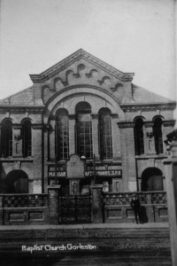 gorleston baptist church history original building