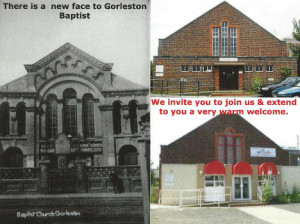 gorleston baptist church old new